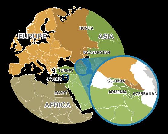turkey a transcontinental country Turkey is a transcontinental country located in southeastern europe and southwestern asia bordering the black sea neighboring countries include armenia, azerbaijan, bulgaria, georgia, greece, iran, iraq, and syria.